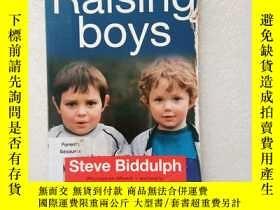 二手書博民逛書店Raising罕見Boys(英文原版)Y11016 steve