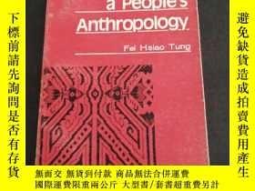 二手書博民逛書店Toward罕見A Peoples Anthropology《邁