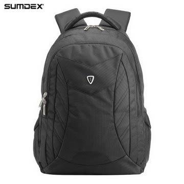 【SUMDEX】PON-366BK X-sac 尖峰背包15.6吋(疾風黑)