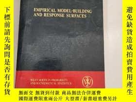 二手書博民逛書店EMPIRICAL罕見MODEL-BUILDING AND RESPONSE SURFACES [經驗模型構建和響