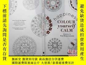 二手書博民逛書店Colour罕見yourself calm - happines