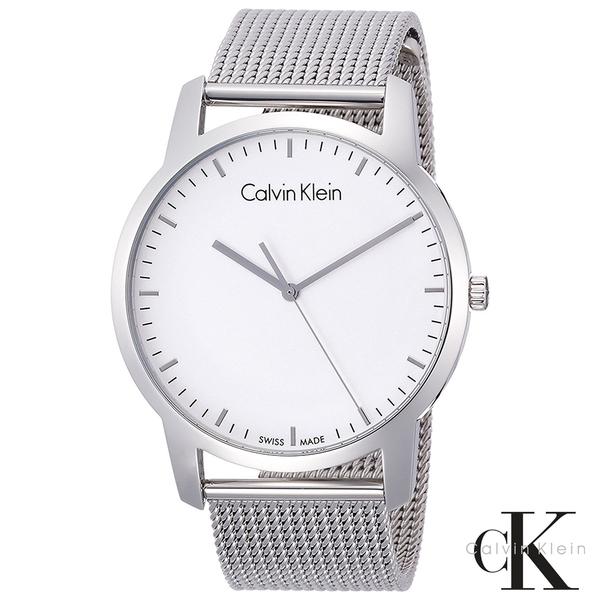 CalvinKlein  極簡品味時尚米蘭帶石英腕錶  K2G2G126