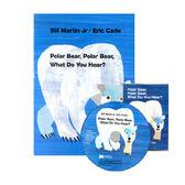『說口好英文--第20週』- POLAR BEAR POLAR BEAR WHAT DO YOU HEAR?  / 硬頁書+CD