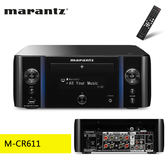 【結帳再折扣+24期0利率】Marantz 馬蘭士 M-CR611 網路CD收音擴大機 藍牙+Wi-Fi無線 公司貨