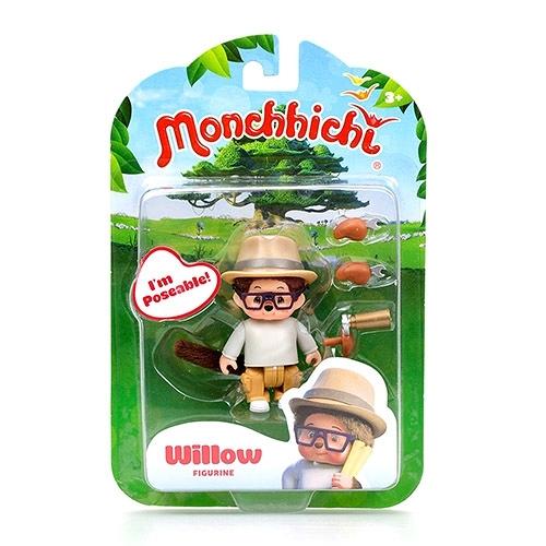 《 Monchhichi 夢奇奇 》人偶公仔 - 威威 Willow╭★ JOYBUS玩具百貨