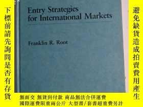 二手書博民逛書店Entry罕見Strategies For Internatio
