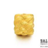 點睛品 Charme系列 福氣長壽繩 黃金串飾