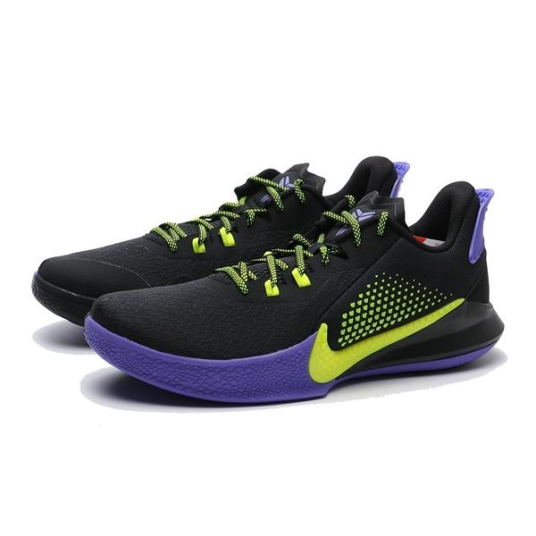 NIKE 籃球鞋 KOBE MAMBA FURY EP 黑 黃紫 湖人 耐磨 男 (布魯克林) CK2088-003