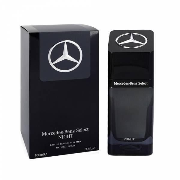 Mercedes Benz 賓士 Select NIGHT 帝耀之夜 夜帝耀男性淡香精 100ml【UR8D】