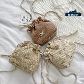 小包包女包新款2021夏季草編織斜挎包女百搭ins時尚潮 「雙11狂歡購」
