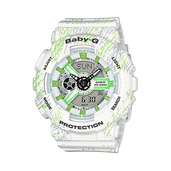CASIO BABY-G 耀眼亮彩甜心運動休閒腕錶-BA-110TX-7ADR