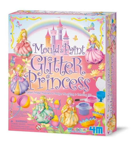 亮麗長髮公主(製作磁鐵) Mould & Paint Glitter Princess
