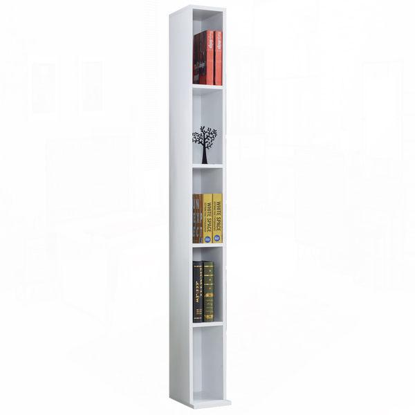 漢克0.6尺白色開放書櫃–中桶﹝18JF/375-2﹞/ H&D東稻家居