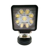 【DG485.495】27W 方形LED工作燈 霧燈 日行燈 探照燈 照明燈 舞台燈 倒車燈 EZGO商城