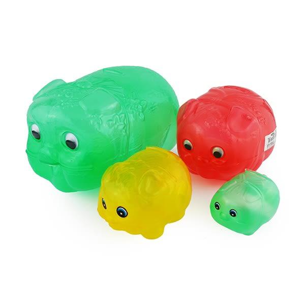 豬公存錢筒 小豬撲滿 透明豬撲滿 台灣製 交換禮物 /兒童玩具 台灣製造4號 迷你小豬