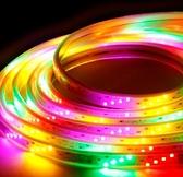 久欣燈帶led七彩變色戶外跑馬流水霓虹燈室外防水裝飾閃光彩燈條ATF 美好生活