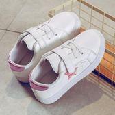 兒童小白鞋新款秋季韓版男童板鞋休閒白色運動鞋女童鞋男童鞋