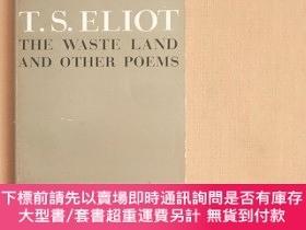 二手書博民逛書店the罕見waste land and other poemsY11026 T.S. Eliot Harves
