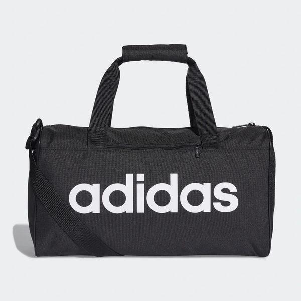 Adidas LINEAR CORE DUFFEL BAG 旅行袋 健身 旅行 黑 【運動世界】DT4818