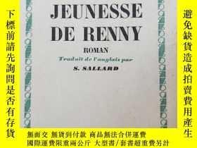 二手書博民逛書店法文原版書:1948年罕見萊尼·羅曼的瑪佐·德拉羅什青年時代 mazo de la roche jeunesse
