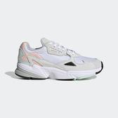 Adidas Falcon W [FV8258] 女鞋 運動 休閒 路跑 老爹 經典 復古 潮流 穿搭 愛迪達 白 灰