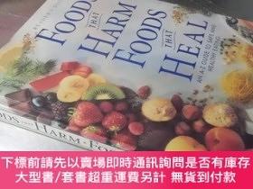 二手書博民逛書店Foods罕見That Harm · Foods That Heal(Reader's Digest)(16開精裝