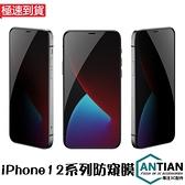 絲印防窺膜 iPhone 12 Pro Max 12Mini 鋼化膜 曲面滿版 玻璃貼 螢幕保護貼 9H防爆 保護膜
