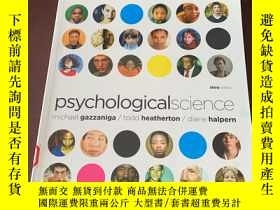 二手書博民逛書店Psychological罕見Science (third ed