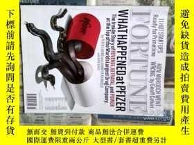 二手書博民逛書店FORTUNE罕見英文财富杂志 2011 08 22 财经杂志原版外文杂志期刊Y114412
