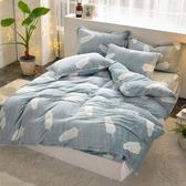 【FOCA多款任選】單/雙/加均一價 保暖法萊絨兩用毯被套舖棉厚包組燦爛冬陽-雙人