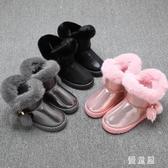女童短靴 3-12歲11女孩雪地靴10冬天小孩86童裝5加絨棉鞋兒童 BT16137『優童屋』