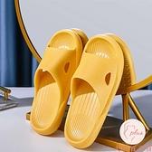 居家拖鞋女夏季浴室情侶室內防滑軟厚底拖鞋【大碼百分百】