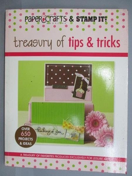 【書寶二手書T1/美工_PEM】Treasury of tips & Tricks