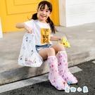 兒童雨鞋套防水鞋防滑寶寶雨靴水靴【奇趣小屋】