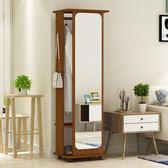 全身鏡穿衣鏡落地鏡子行動旋轉收納試衣鏡客廳臥室家居鏡簡約現代T