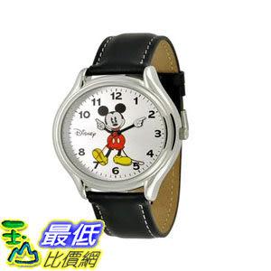 [103美國直購] 手錶 Disney Mens MCK619 Mickey Mouse Black Strap Easy Read Watch $1069