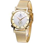 Rosemont 玫瑰錶戀舊系列 優雅時尚腕錶 TN-003-GD-MT1