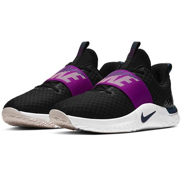 NIKE RENEW IN-SEASON TR 9 女鞋 慢跑 訓練 輕量 透氣 避震 黑 紫【運動世界】AT1247-012