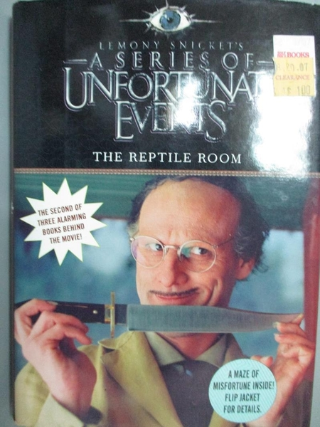 【書寶二手書T2/原文小說_GCJ】A Series of Unfortunate Events: The Reptil