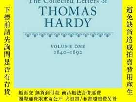 二手書博民逛書店【罕見】The Collected Letters Of Thomas Hardy Vol. 1: 1840-18