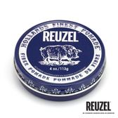 REUZEL Fiber Pomade 深藍豬強力纖維級水性髮泥 113g