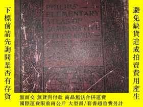 二手書博民逛書店PHILIPS罕見ELEMENTARY ATLAS OF COM