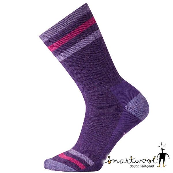 Smartwool 美國 女 中級減震型徒步中長襪『山嵐紫』SW001128 長襪 羊毛襪 美麗諾羊毛 排汗襪 保暖襪