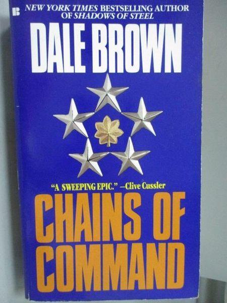 【書寶二手書T5/原文小說_MCV】Chains of Command_Dale Brown