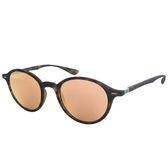 原廠公司貨-【Ray-Ban 雷朋】4237F-894/Z2復古圓框雷朋太陽眼鏡/墨鏡(#玻璃鏡片-水銀粉鏡面)