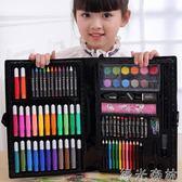 繪畫工具 兒童畫筆套裝幼兒園水彩筆繪畫用品美術畫畫工具小學生女生日禮物 綠光森林