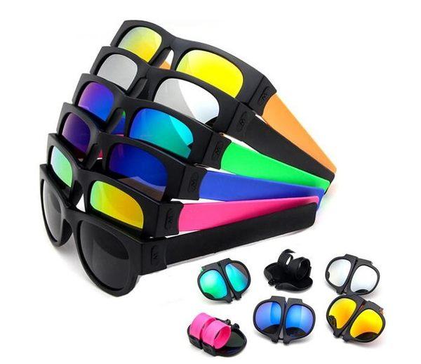 [24hr-快速出貨] 韓版 反光 墨鏡 太陽眼鏡 潮流 時尚 墨鏡 啪啪圈 手環 折疊 太陽鏡
