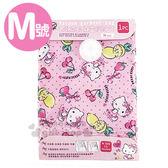 〔小禮堂〕Hello Kitty 衣類壓縮袋~M 粉點點萊姆櫻桃70X120cm ~抽氣式