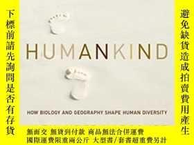 二手書博民逛書店罕見Humankind-人類Y443421 Alexander H. Harc... Pegasus Book