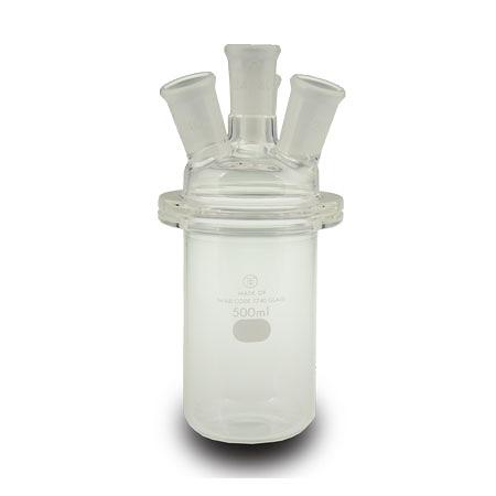 直筒四口 反應瓶 分離式 Flask, Reaction, Cylindrical